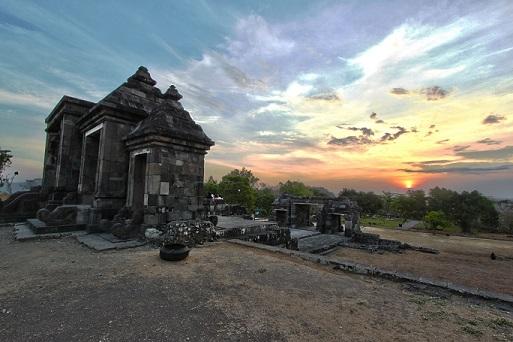 Wisata Yogyakarta Istana Ratu Boko