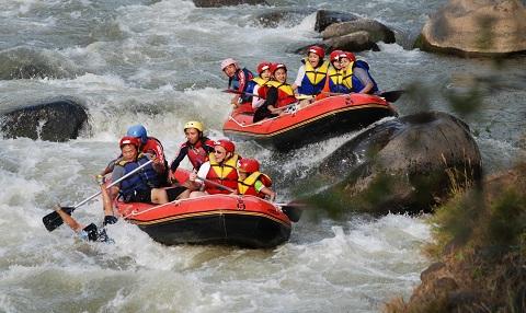 Rafting Sungai Elo Magelang, Explore Sungai Elo