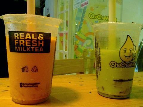 Chacha Milk Tea, Tempat Nongkrong di Jogja