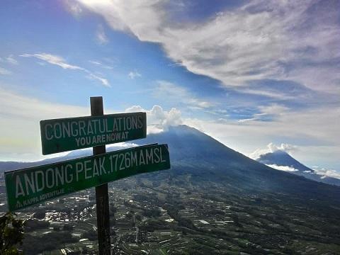 Gunung Andong, Melihat Dari Ketinggian Wisata Alam Magelang
