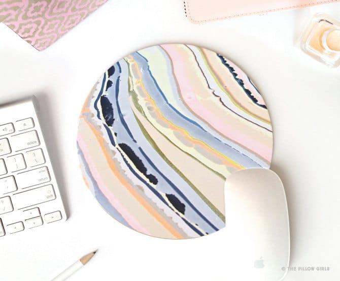 Mousepad buatan sendiri