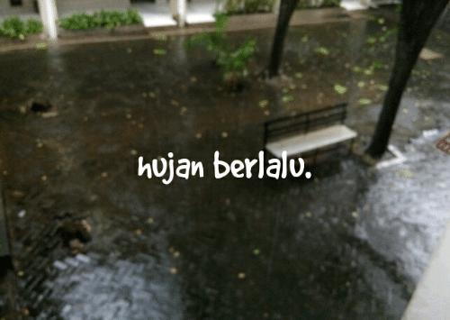 Musim Hujan Sudah Berlalu ya? Kok Beberapa Hari Ini Cerah Syahdu